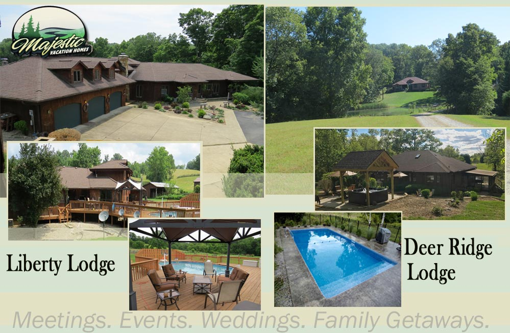 Hocking Hills Majestic Vacation Homes