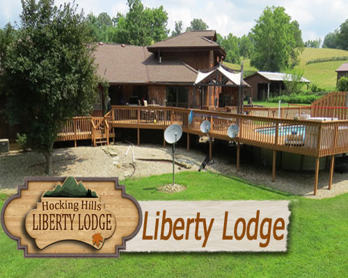 Liberty Lodge - in the Hocking Hills  Majestic Vacation Homes